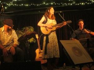 Mary Webb CD launch, Wheatsheaf, Dec 8 2012. Pic: Michael Hunter.