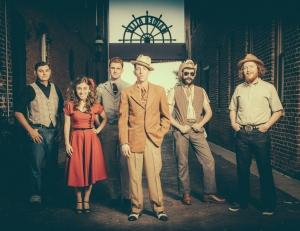 Pokey LaFarge & band  (pic: Glenn Hall)