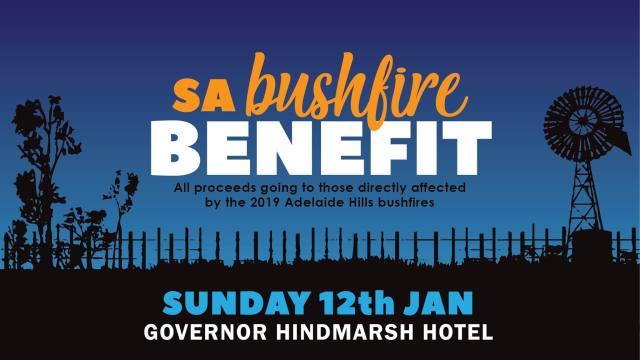 SA Bushfire benefit pic